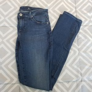 Ag Adriano Goldschmied Jeans - AG Adriano G Stevie Slim Straight Ankle Jean 27R